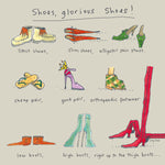 Shoes, Glorious Shoes FP37Poet & PainterCards