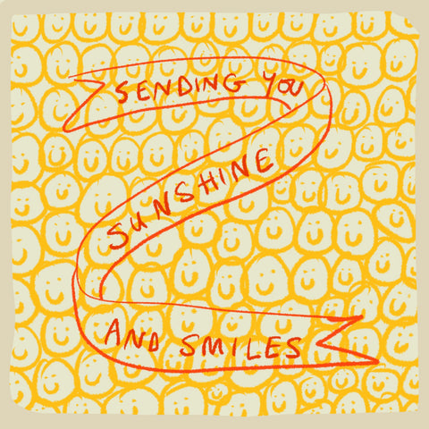 'Sunshine and Smiles' card, Studio Collection FP986