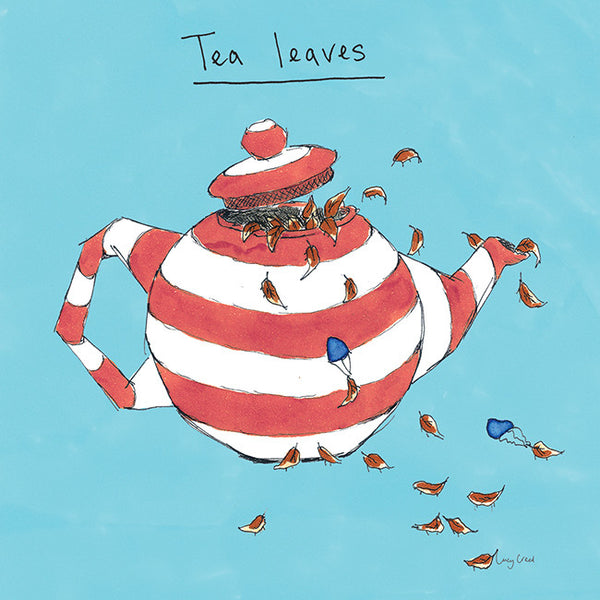 Tea Leaves Card FP11