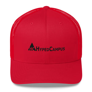HypedCampus Embroidered Trucker Cap