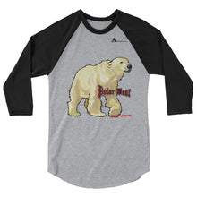 Polar Bear Three-Quarter Sleeve Raglan Shirt