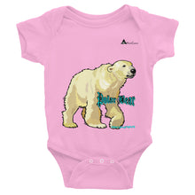 Load image into Gallery viewer, Polar Bear Infant Bodysuit