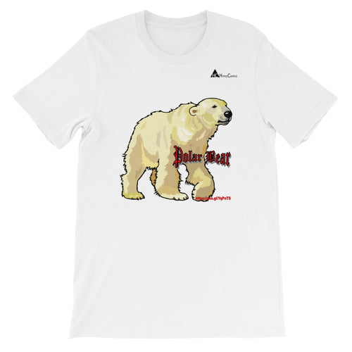 Polar Bear Short-Sleeve Unisex T-Shirt