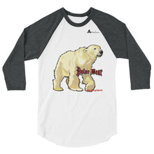 Load image into Gallery viewer, Polar Bear Three-Quarter Sleeve Raglan Shirt
