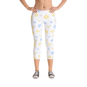 Decorated Capri Leggings