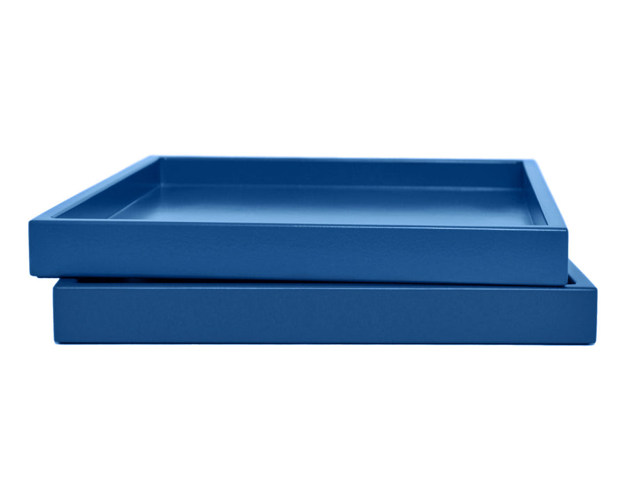 Blue Low Profile Tray