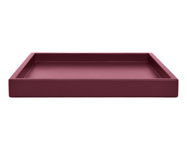Dark Pink Low Profile Tray