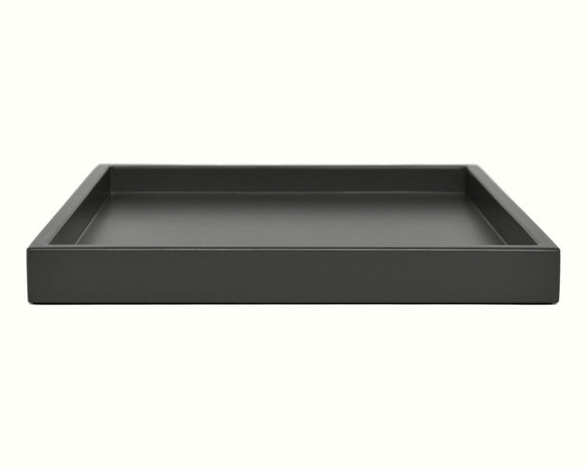 Dark Gray Low Profile Tray