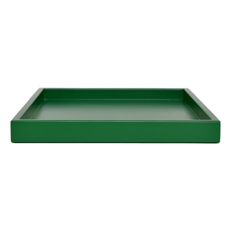 emerald green shallow tray