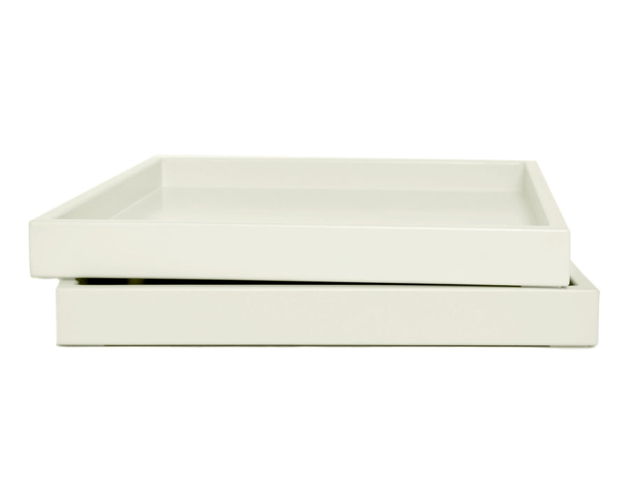 Ivory Low Profile Tray