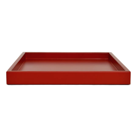 merlot red shallow tray