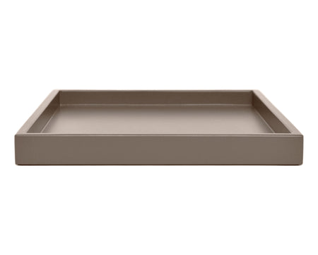 Shaded Taupe Low Profile Tray