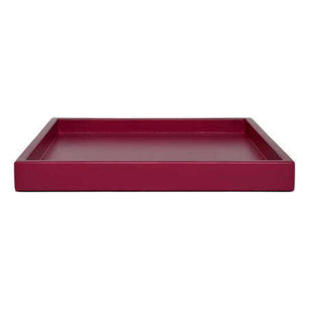 raspberry pink shallow tray