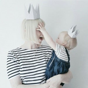 ORIGAMI PARTY CROWNS