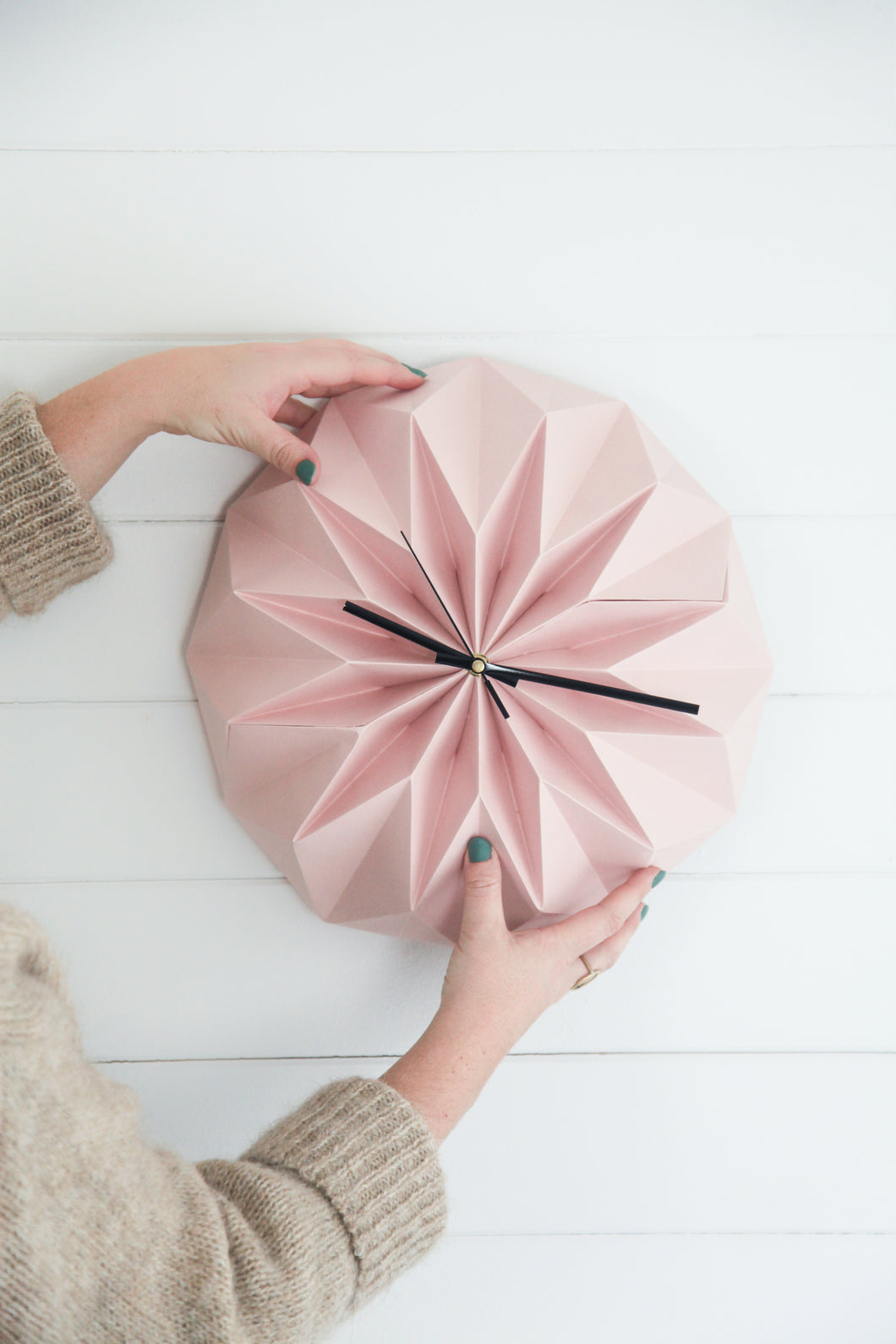 MADE TO ORDER ORIGAMI CLOCK
