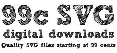 99c SVG Digital Downloads