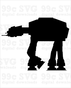 Star Wars: AT-AT SVG