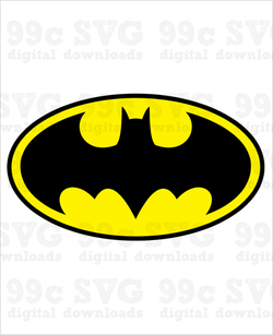Batman Logo SVG