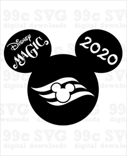 Disney Magic Cruise 2020 Mickey SVG
