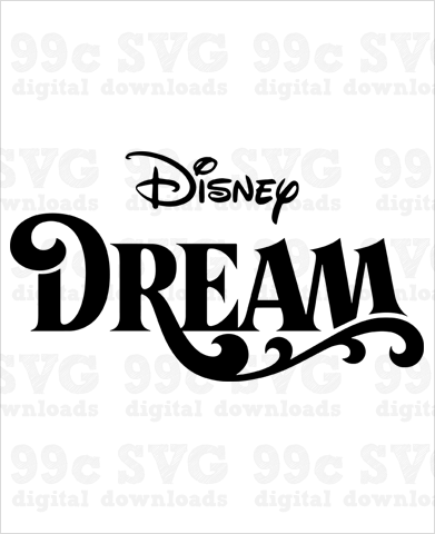 Disney Dream Cruise Logo SVG