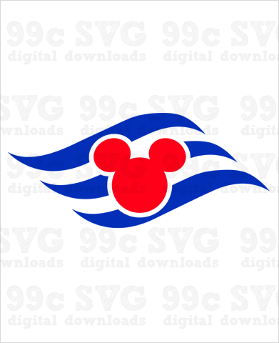 Disney Cruise Logo SVG