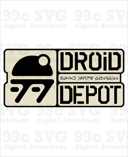Star Wars: Droid Depot SVG