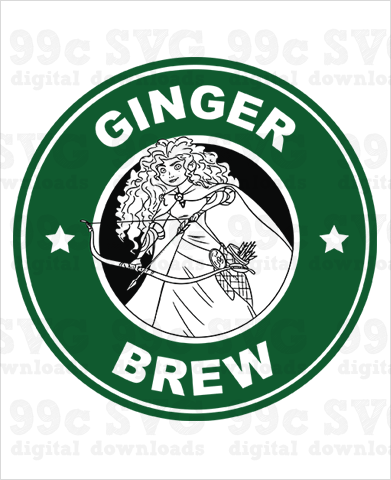 Brave: Ginger Brew SVG