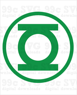 Green Lantern Logo SVG