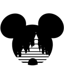 Mickey Mouse Magic Castle SVG