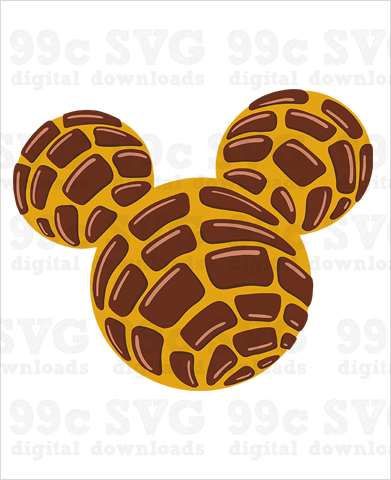 Mickey Concha SVG