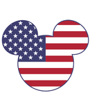 Mickey Mouse Americana SVG