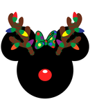 Minnie Mouse Christmas Antlers SVG