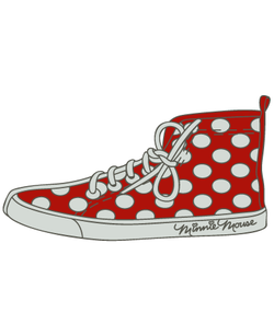 Minnie Converse Shoe SVG