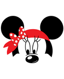 Minnie Mouse Pirate Bandana SVG