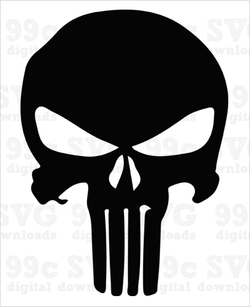 Punisher Logo SVG