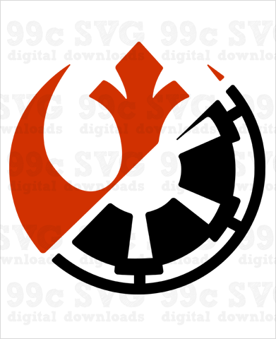 Star Wars Rival Run Logo SVG