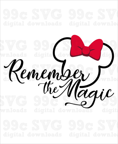 Remember the Magic SVG