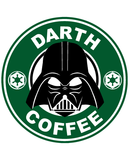 Starbucks Inspired Logo Darth Vader - Darth Coffee