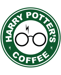 Starbucks Inspired Harry Potter Coffee Logo -Harry Potter's Coffee