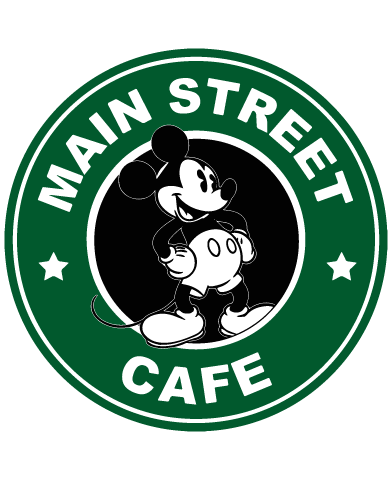 Instant Download Mickey Mouse Starbucks Coffee Logo Svg
