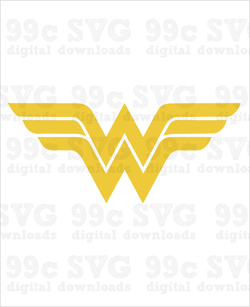 Wonder Woman Logo SVG