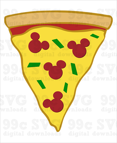Mickey Pizza SVG