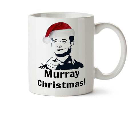 MURRAY CHRISTMAS  Coffee Mug - May Add Own Text to Personalize Funny Holiday Gift