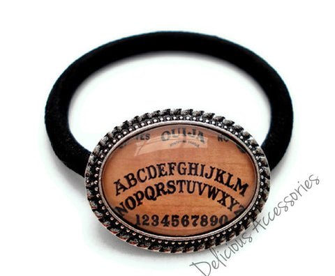 Ouija Board Ponytail Holder