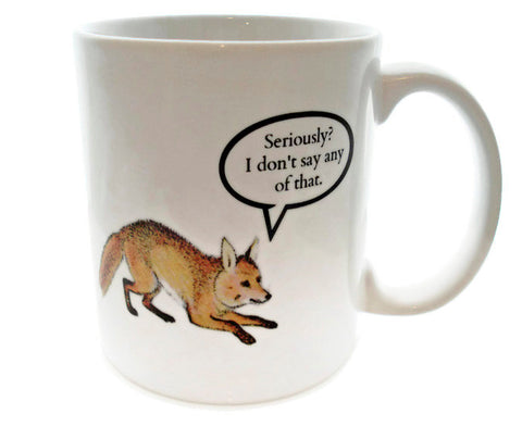 What DOES the Fox Say - 11 ounce Coffee Mug - Superb GIFT Ylvis