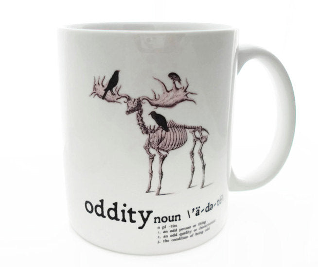 The NON-CONFORMIST Oddity -  11 ounce Coffee Mug - Superb GIFT
