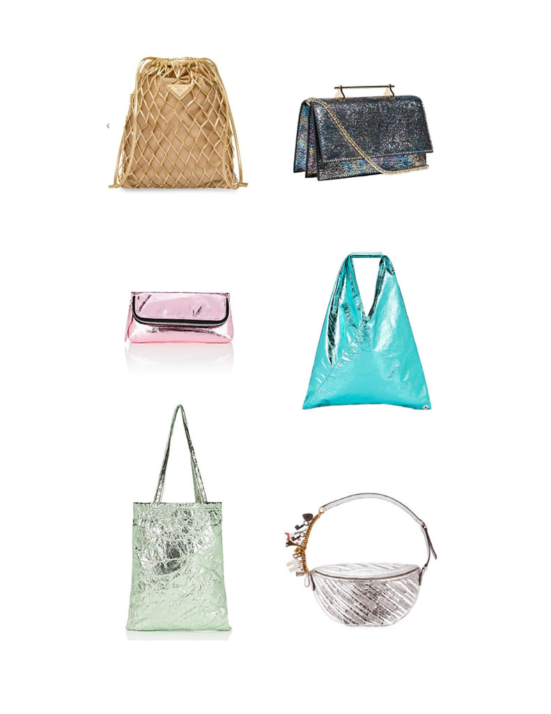 Trend Report: Metallic Bags