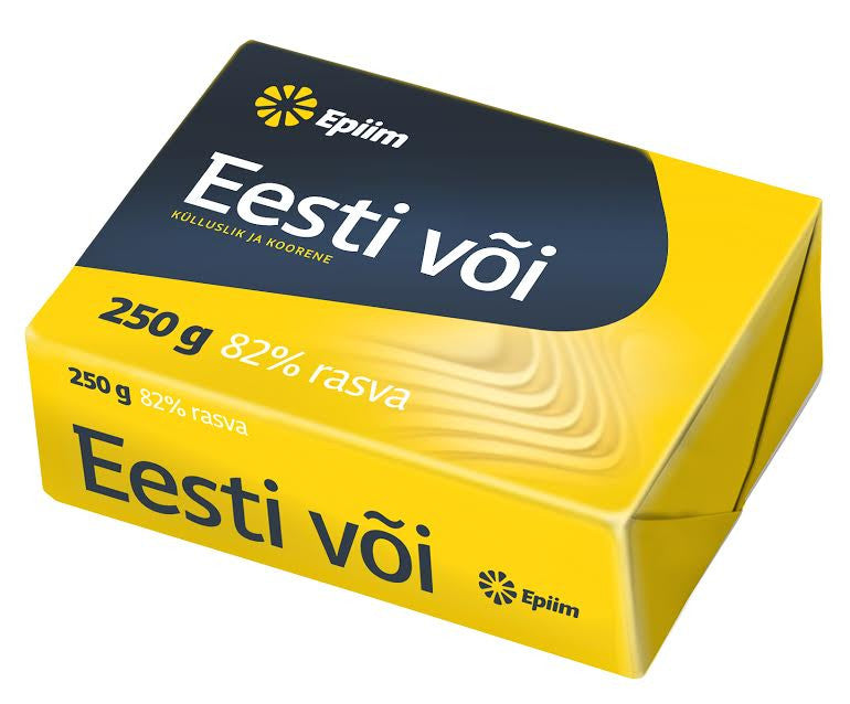 Estonian butter