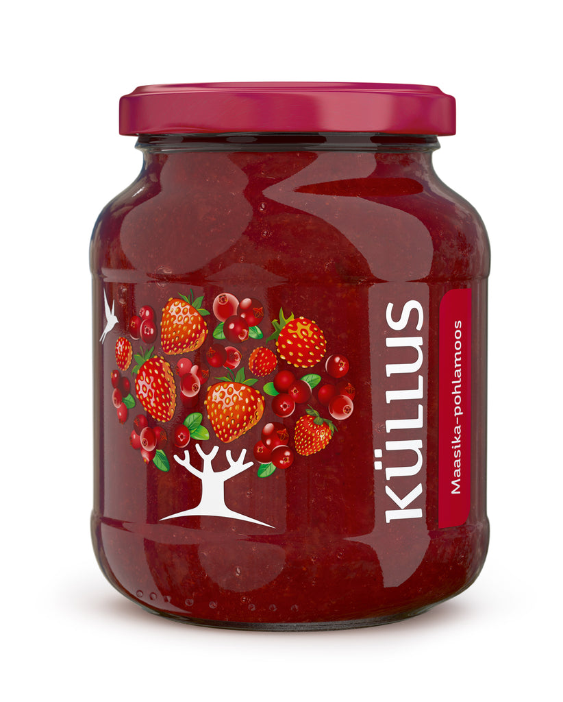Strawberry-lingonberry jam