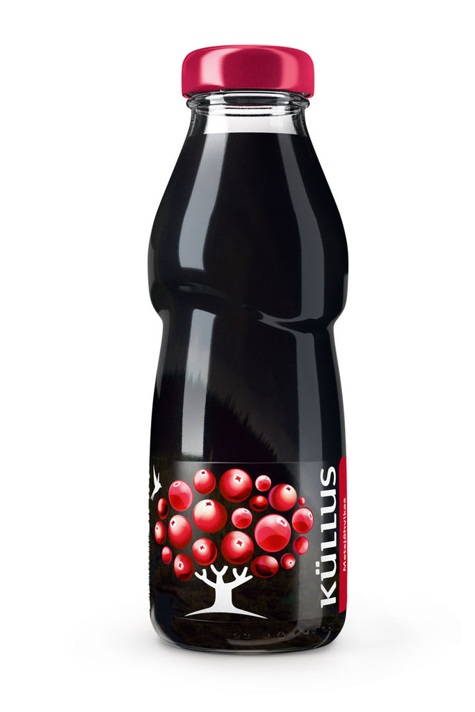 Wild cranberry juice drink concentrate